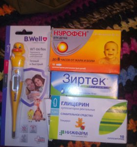 Аптечка для малыша