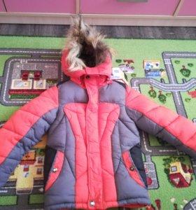 Куртка зима, рост 110-116.
