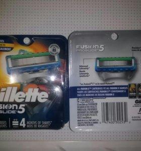 Лезвия Gillette Proshield (США)