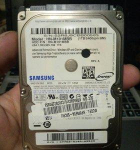 Жесткий диск для ноутбука 2.5 1000гб