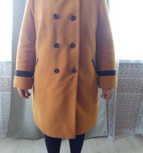 Пальто, куртка длинная и шуба мутон