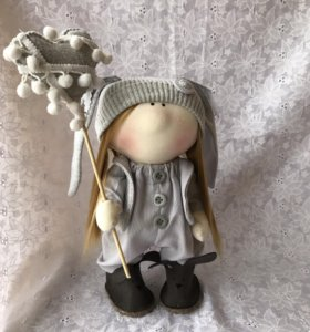 Текстильная кукла тильда🍀