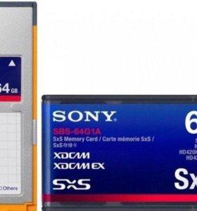 Флэш-карта SxS-1 64Gb для видеокамер Sony XDCAM