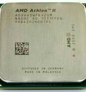 Процессор AMD Athlon II X4 645