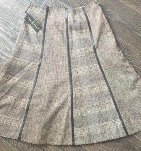 Новая шерстяная юбка 42-44 р.