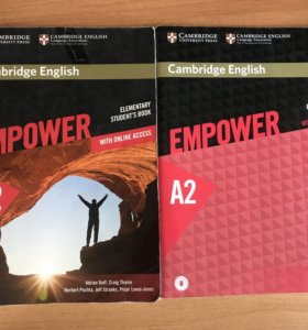 Cambridge English Empower A2 комплект