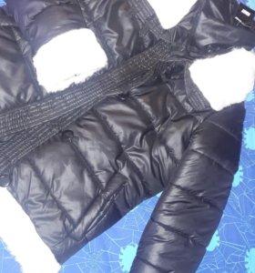 Новая зимняя куртка пуховик