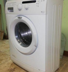 Узкая Стиральная машина whirlpool с гарантией