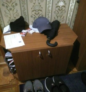 Прихожая , шкаф, обувница, вешалка.