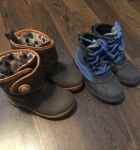 Ботиночки , сапожки фирмы Croks, размер 28-29