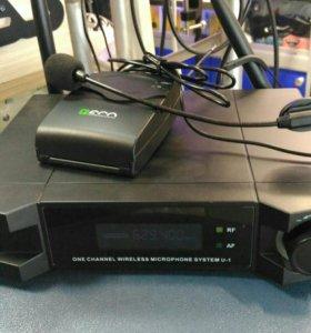 US-1Н радиомикрофон головной профи