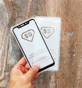Xiaomi Mi 8 защитное стекло