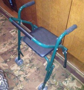 Ходунки с сиденьем