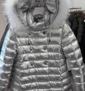 Зимнее пальто новое Kiwiland 7лет