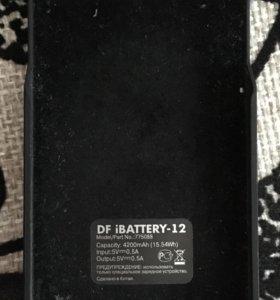 Чехол-зарядка iPhone 5/5s/se