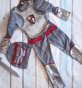 Костюм рыцаря 134-140 см.