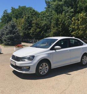 Прокат Аренда Volkswagen polo 2016г без водителя