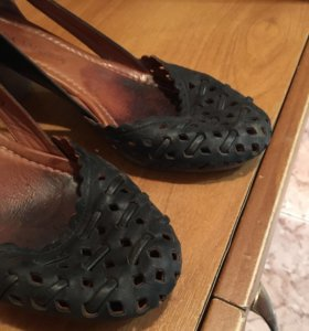 Туфли летние кожа натуральная