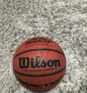Мяч баскетбольный Wilson Reaction