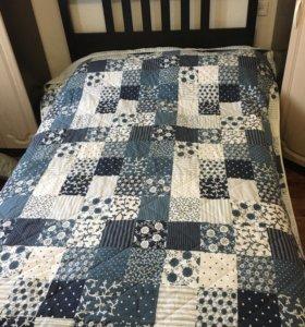 Кровать ikea хемнэс с матрасом