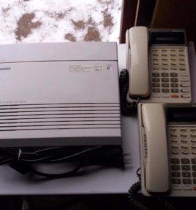 Мини АТС «Panasonic» 6 х 16 + 8 = 6 х 24.