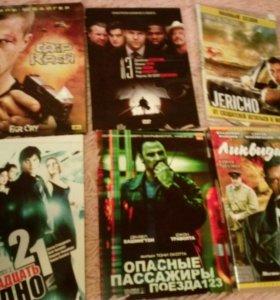 Фильмы, диски DVD
