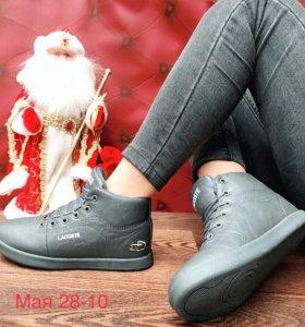 Ботинки 41р с мехом