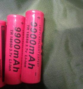 Аккумуляторы TR 18650 3,7v