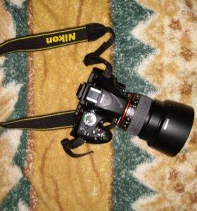 Nikon d5200 и Samyang 85 mm 1,4