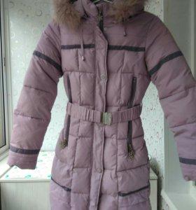 Пальто зимнее р.158