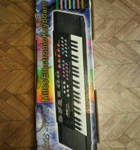 Электронное пианино 🎹 детское