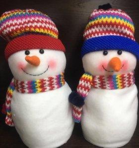 Снеговики подарок на Новый Год