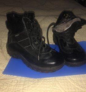 зимние НОВЫЕ ботинки мальчиковые размер 32