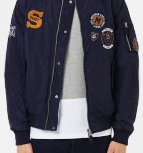 Продам бомбер. Navy Badged MA1 Bomber Jacket