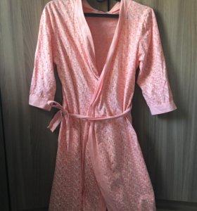 Халат и ночная сорочка 46 размер