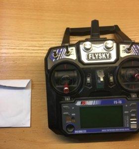 Аппаратура Fly Sky i6 без приёмника.