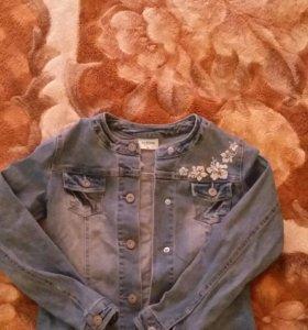 Джинсовая куртка Акула кидс для девочки