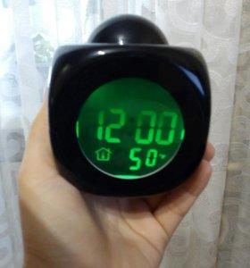Часы с галограммой