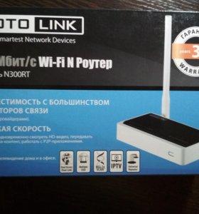 WI-FI Роутер TOTO Link N300RT