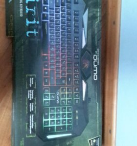 qumo earth spirit gaming keyboard