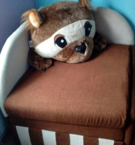 Детский диванчик М-стиль Топтыжка