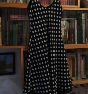 Платье в горох