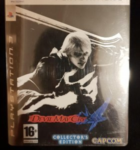Ps3 Devil May Cry 4 Collector's edition
