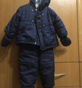 Комбинезон и куртка 9-12 мес