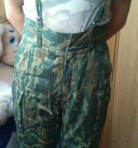 Штаны ватные,52 размер