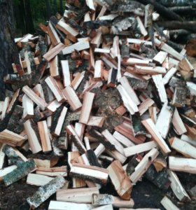 Колотые дрова (бесплатная доставка)