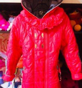 Куртка на 6-8 лет осень