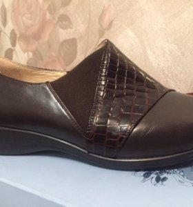 туфли нат кожа новые
