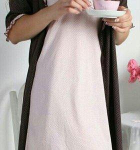 Пеньюар (сорочка+халат)