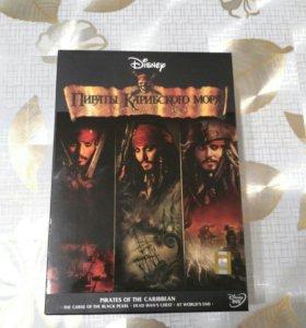 Пираты Карибского моря: Трилогия (6 DVD)
